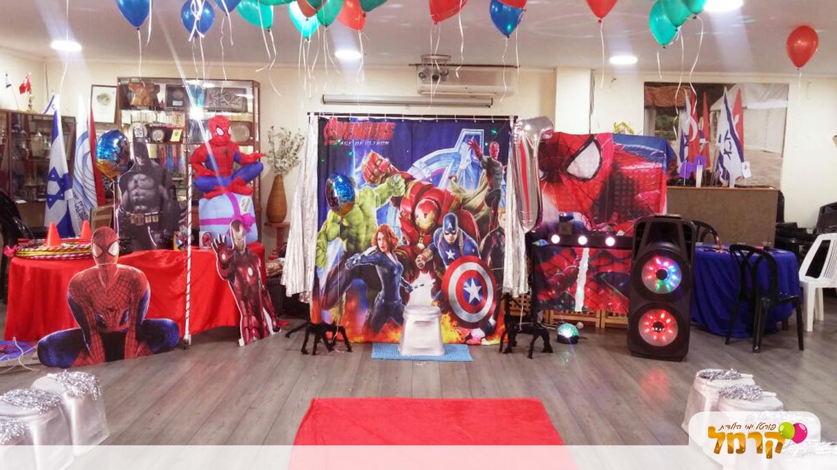איש העכביש וגיבורי העל - 073-7584981